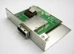 Maxserveの1ポートタイプのSAS マルチレーンコネクター
