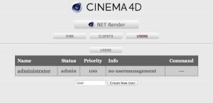 NetRender-クライアント