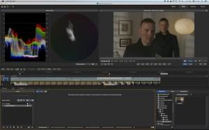 2UP、3UPワンクリックでが表示。新しいビデオウェーブフォームも搭載。