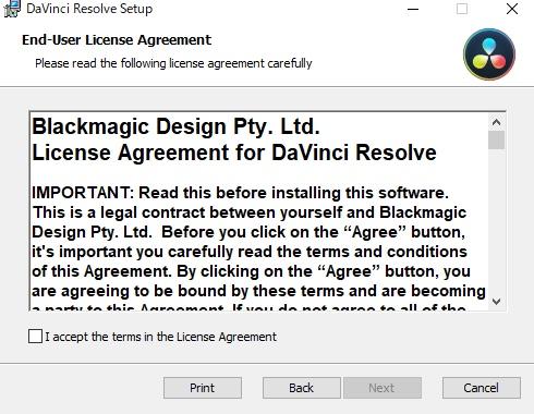 DaVinci Resolve 16 ライセンス