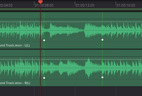 Fairlight 弾性波オーディオリタイミングコントロール