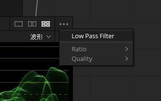 GPUスコープ ローパスフィルター