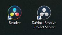DaVinci Resolve Project Serverアイコン