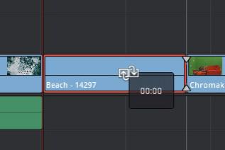 タイムラインのクリップをエフェクトを維持して置き換え