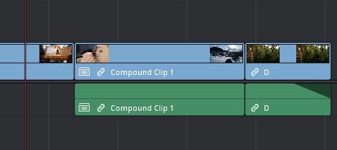 「複合クリップ」に切り替わります。