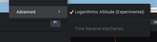 「Logarithmic Altitude (対数補正)」