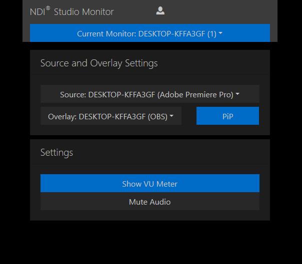 NDI Studio Monitor