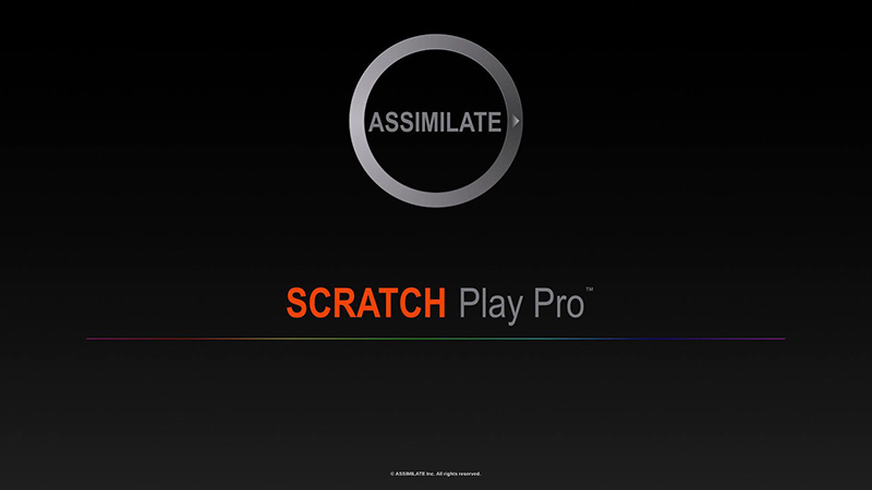 ASSIMILATE  SCRATCH Play Proリリース
