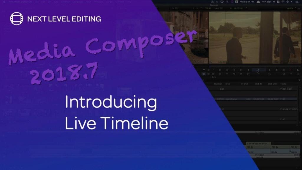 AVID Media Composer 2018.7の新機能