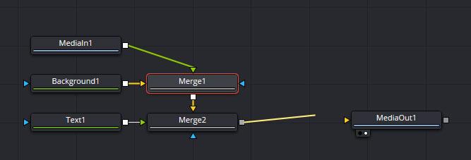 接続線でノードを接続する