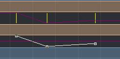 Command(Ctrl)キーを押しながら、キーフレームを所定の位置にドラッグ
